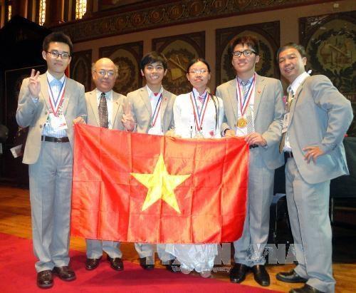 Học sinh Trường chuyên Trần Phú giành huy chương vàng Olympic Hóa quốc tế