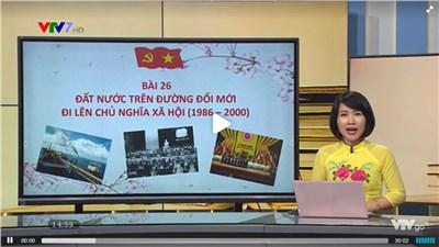 Vinh dự của bộ môn Lịch sử hải phòng với 3 bài được phát sóng trên VTV7